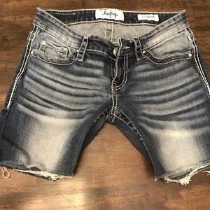Daytrip cutoff denim shorts, new condition